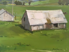 """Old Chicken Barn"" Oil Painting"