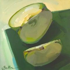"""Feeling Green"" Oil Painting"