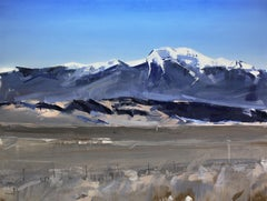 """Sangre de Cristo Mountains, Colorado"" Oil Painting"