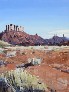 """Moab Plateaus"" Oil Painting"