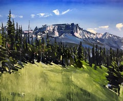 """""""Grand Tetons National Park, WY"""" Oil Painting"""
