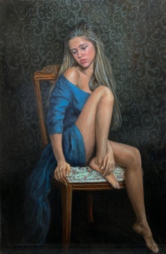 """""""Inner Beauty"""" Oil painting"""