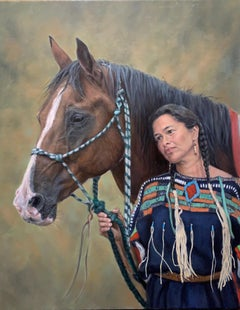 """""""In Remembrance"""" Oil painting"""