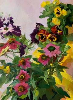 """Yellow Box"", Oil painting"