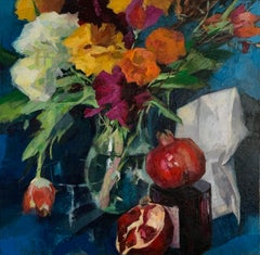 """""""Vanitas"""", Oil painting"""