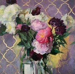 """""""Lattice"""", Oil painting"""