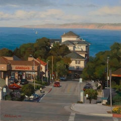 """Monterey Bay"", Oil painting"