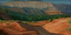"""""""Red Canyon"""", Oil Painting"""