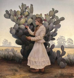 """""""Prickly Pear"""" Oil Painting"""