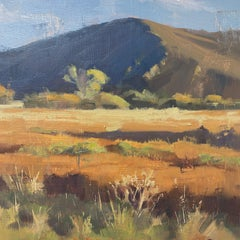 """""""Fall Grass"""" Oil Painting"""
