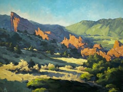 """""""Craggy Afternoon,"""" Oil painting"""
