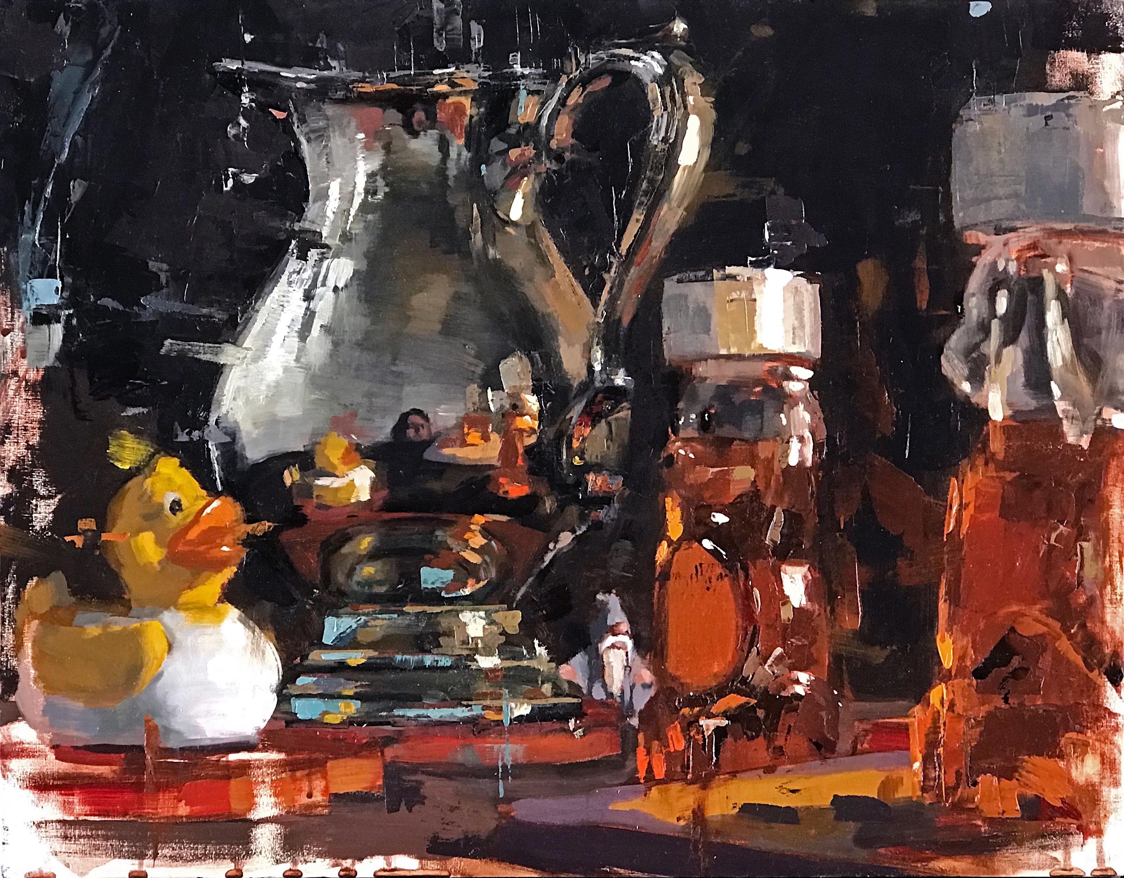 """Predator and Prey"" Oil Painting"