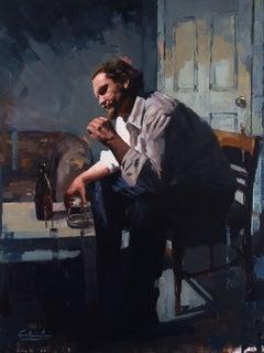 """""""Lockdown"""" Oil Painting"""