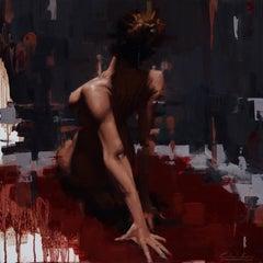 """Kinetic Stillness"" Oil Painting"