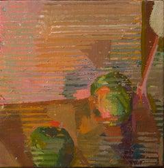 """Three Apples,"" Oil Painting"