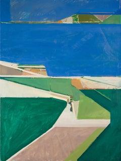 """""""Ocean Cuda 2.5,"""" Oil Painting"""