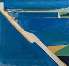 """""""Ocean Cuda 1.5,"""" Oil Painting"""