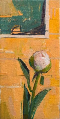 """""""Bud,"""" Oil Painting"""