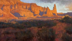 """""""Light on the Mesa"""", Pastel Drawing"""