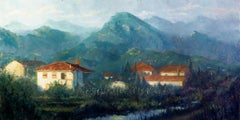 """Italy Countryside"" Oil Painting"
