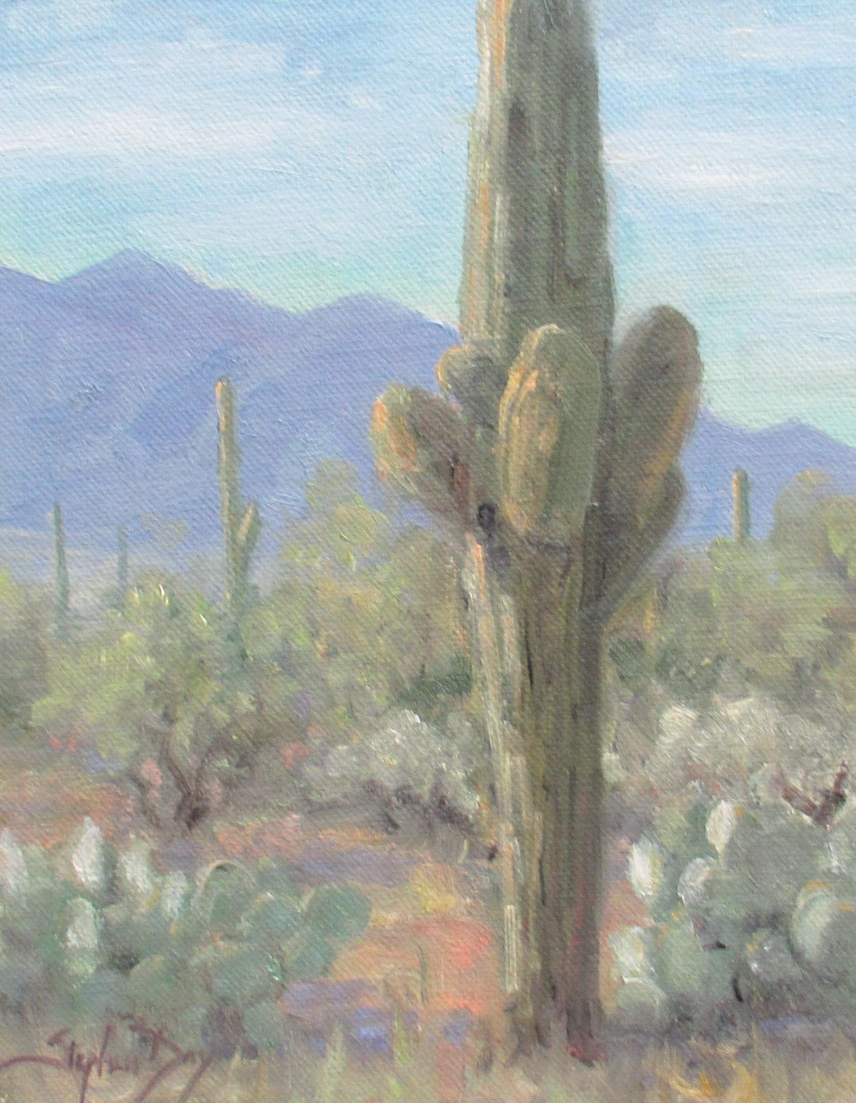 """""""Desert Morning"""" Oil Painting"""