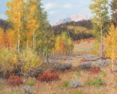 """""""Autumn Mood,"""" Oil Painting"""
