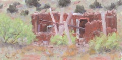 """""""Adobe Ruin - New Mexico"""" Oil Painting"""