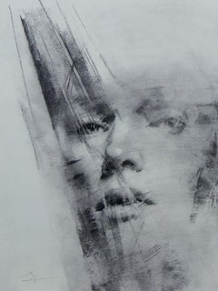 """""""Fragile,"""" Charcoal Drawing"""