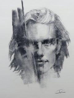 """Figure #39,"" Charcoal Drawing"