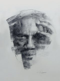 """""""Between the World and Me,"""" Charcoal Drawing"""