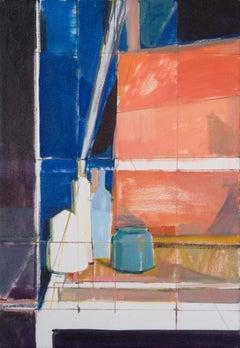 """Tested Bottles,"" Oil Painting"