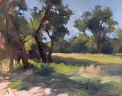"""""""In the Shade,"""" Oil painting"""