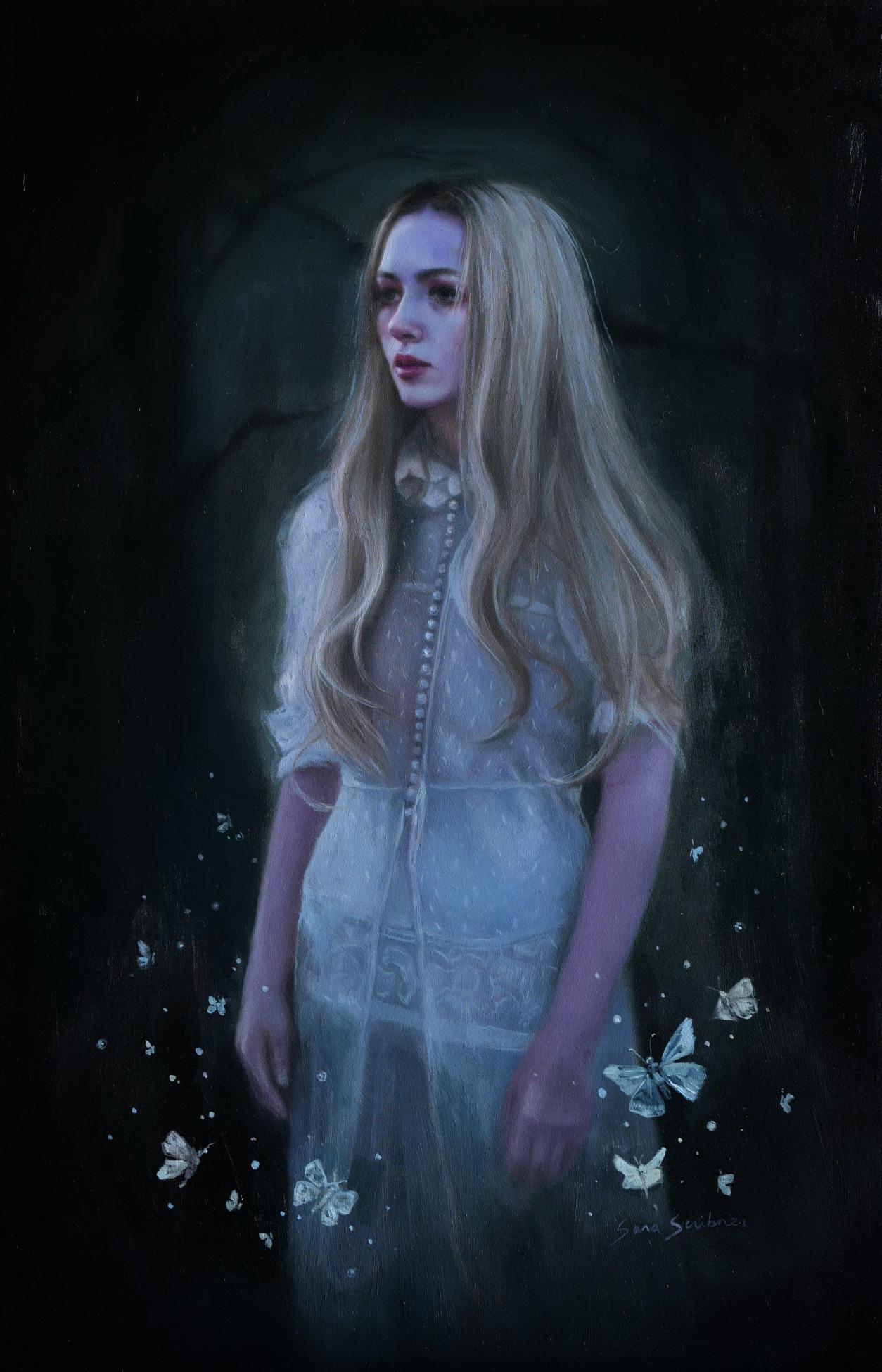 """Luminous,"" Oil Painting"