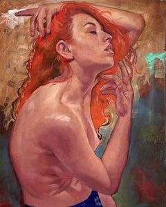 """""""Siren"""" Oil Painting"""