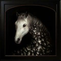 """""""Harbinger,"""" Oil Painting"""