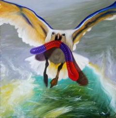 """Sugar High,"" Oil Painting"
