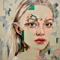 """L'innocent"", Oil Painting"
