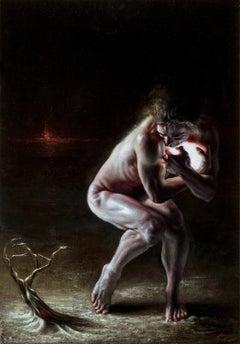 """Nomos"", Oil Painting"