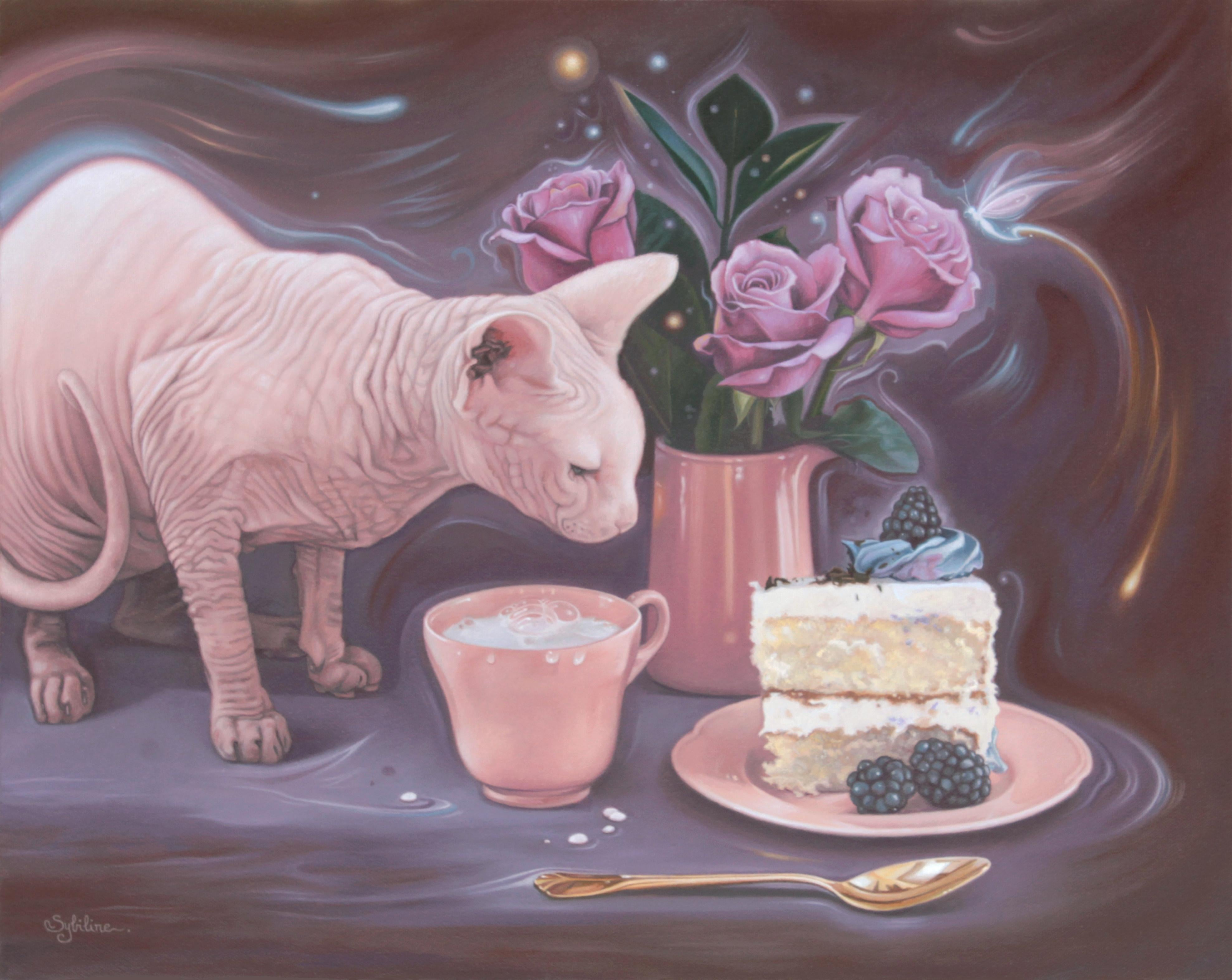 """""""Afternoon Delight"""" Oil Painting"""