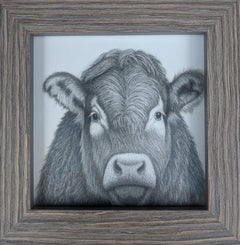 """""""Bessie,"""" Graphite & Charcoal Drawing"""