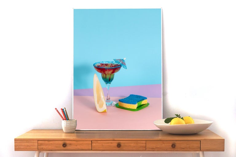 Sexy Miami Futuristic Cocktail Lounge #9, Giclée Print Limited Edition of Three - Photograph by Ryan Rivadeneyra