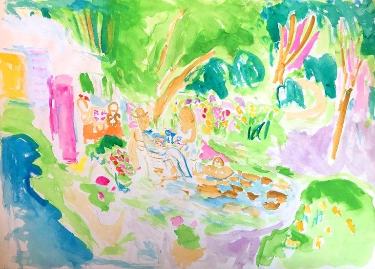 Bob Paul Kane Abstract Drawing - Untitled 524, 1980s