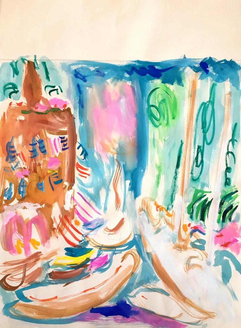 Bob Paul Kane Landscape Art - Harbor 549, 2000s