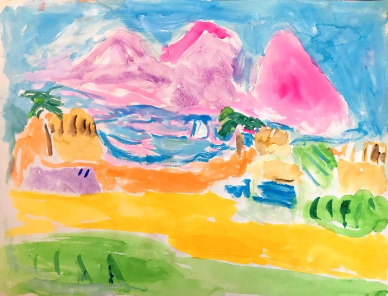 Bob Paul Kane Landscape Art - Untitled 525, 1980s