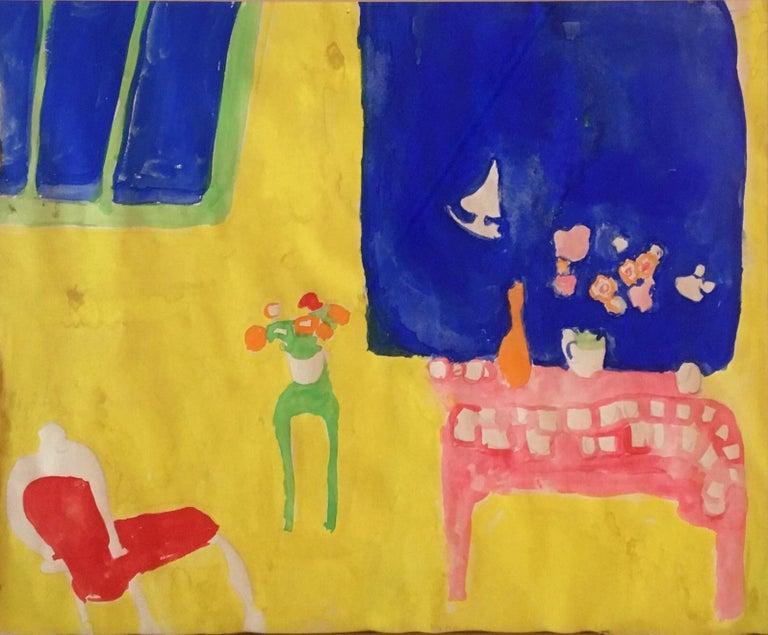 Bob Paul Kane Still-Life - Yellow Interior, ca. 1968