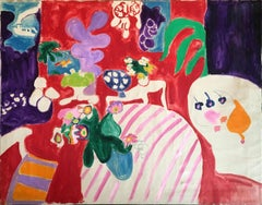 Abstract Flowers ( 497), 1968