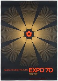 Expo 1970 World Exhibition in Osaka – Original Vintage Japanese Poster