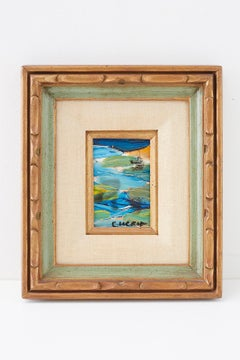Pascal Cucaro Abstract Seascape 1960's