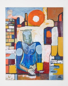 Cyrstofer Abstract Figures Painting