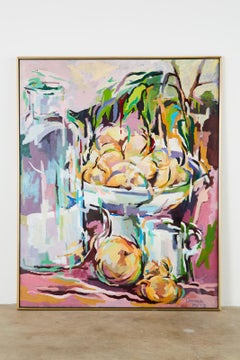 Still Life with Onions Oil Painting